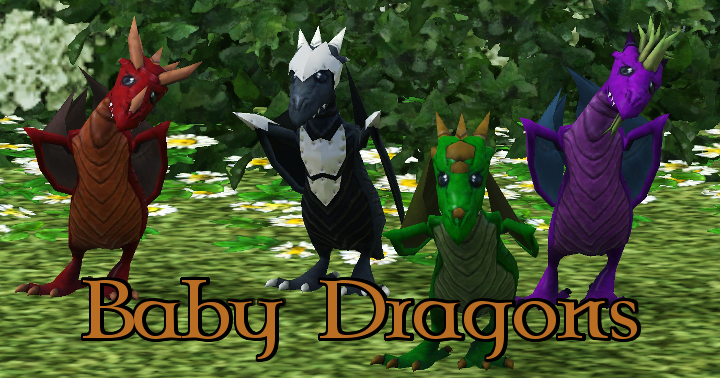 The Sims 3 Dragon Valley World: Baby Dragons