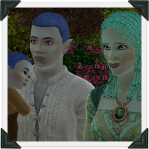The Sims 3 Dragon Valley World: Eames Household