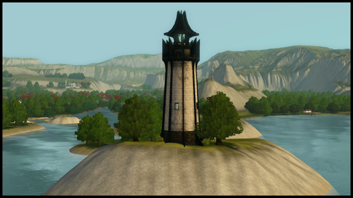 The Sims 3 Dragon Valley World: Lighthouse