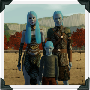 The Sims 3 Dragon Valley World: Mithrilen Household