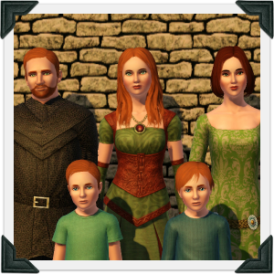 The Sims 3 Dragon Valley World: O'Connell Household