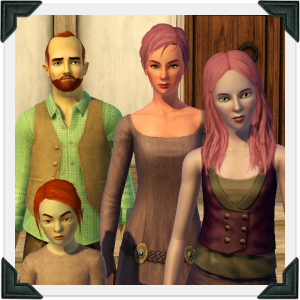 The Sims 3 Dragon Valley World: O'Reilly Household