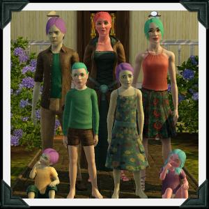 The Sims 3 Dragon Valley World: Prendergast Household