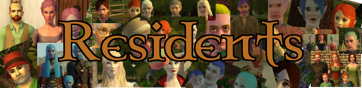 The Sims 3 Dragon Valley World: Resident List, all Townies and Adresses